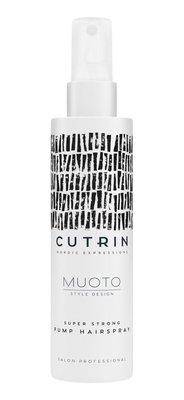 CUTRIN MUOTO EXTRA STRONG PUMP HAIRSPRAY