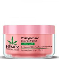 HEMPZ BODY SCRUB SUGAR & POMEGRANATE