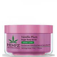 HEMPZ BODY SCRUB VANILLA PLUM HERBAL SUGAR