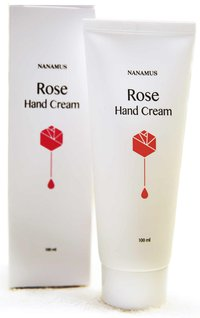 NANAMUS ROSE HAND CREAM
