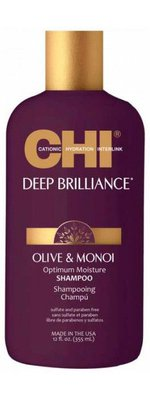 CHI DEEP BRILLIANCE OLIVE&MONOI OPTIMUM MOISTURE