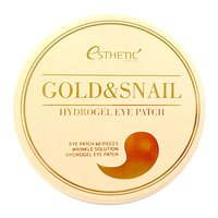 ESTHETIC HOUSE HYDROGEL EYE PATCH GOLD AND SNAIL